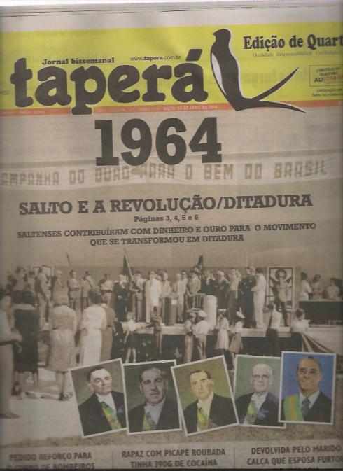 Salto e a Ditadura de 1964